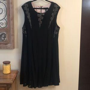 Beautiful Black Formal Dress W/ Sequins